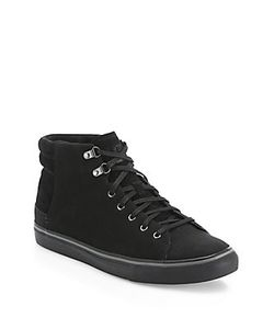 UGG Australia | Hoyt Leather Suede Sneakers