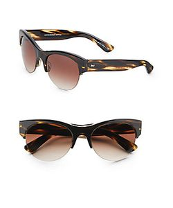 Oliver Peoples   Louella 55mm Cats-Eye Sunglasses