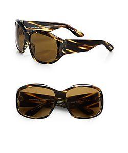 Oliver Peoples   Rovella Oversized Acetate Sunglasses