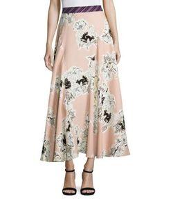 Roksanda | Jerrick Printed Silk Skirt