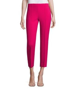 Agnona | Wool-Blend Cropped Pants