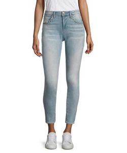 True Religion | Halle Super Skinny Eyelet Jeans