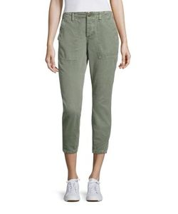 Amo | Army Twist Utility Cropped Pants