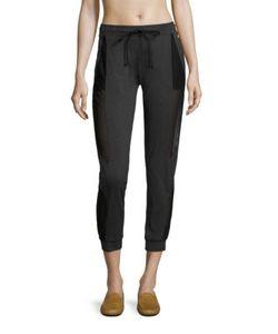 Koral | Symmetry Cropped Sweatpants