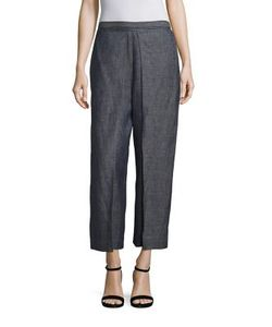 Rosetta Getty | Linen Trouser