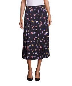 Christopher Kane | Ditsy Pleated Skirt