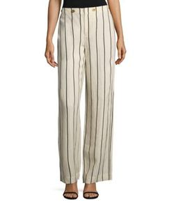 Polo Ralph Lauren | Striped Wide-Leg Pants