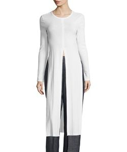 Rosetta Getty | Split Front Long Top