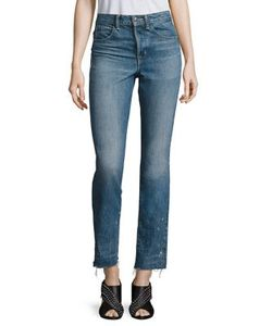 Helmut Lang | High-Rise Cropped Jeans