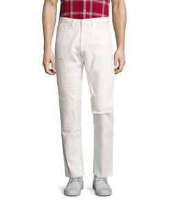 Ovadia & Sons   Patched Straight-Fit Pants