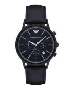 Emporio Armani | Polished Round Stainless Steel Watch