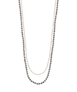 Astley Clarke | Biography Hematite White Sapphire Sun Beaded Necklace