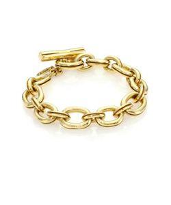 Vaubel | Hammered Chain Toggle Bracelet