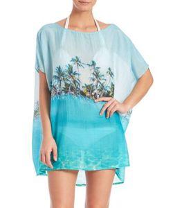 Samudra   Cotton Silk Lost In Paradise Caftan