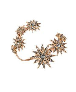 Ca & Lou | Etoile Crystal Coil Cuff Bracelet