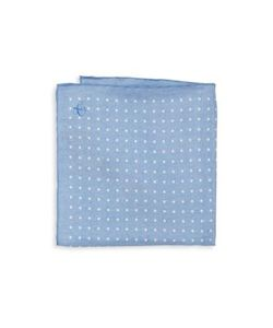 Canali | Polka Dot Silk Pocket Square