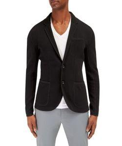 EFM-Engineered for Motion   Regular-Fit Knitted Blazer