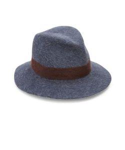 Lola Hats | Shadow Felted Wool Rabbit Fur Fedora