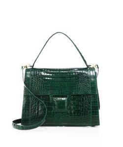 Nancy Gonzalez | Medium Kelly Crocodile Top-Handle Bag