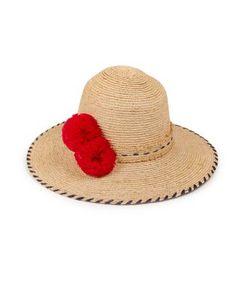 Lola Hats | Shorex Pom-Pom Raffia Sun Hat