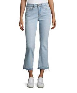 Derek Lam 10 Crosby | Denim Gia Cropped Fla Jeans