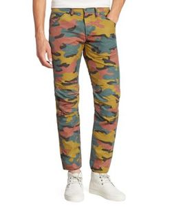 G-Star Raw | Straight-Fit Camo Printed Jeans