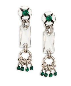 Dannijo | Reef Crystal Drop Earrings