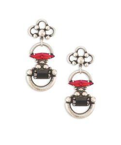 Dannijo | Bombay Crystal Drop Earrings