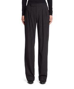 Ralph Lauren Collection | Harrison Pleated Wool Pants