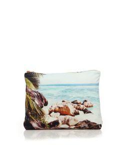 Samudra   Surf Jaipur Classic Cotton Canvas Pouch