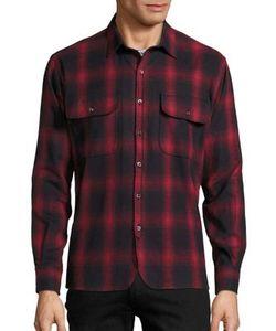 Ovadia & Sons   Oversized Plaid Shirt