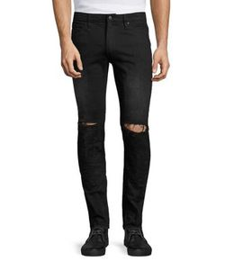 Ovadia & Sons   Os1 Distressed Denim Pants