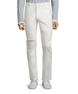 Ovadia & Sons   Slim-Fit Distressed Jeans
