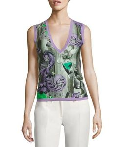 Versace Collection   V-Neck Top