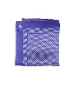 Canali | Dot Silk Pocket Square