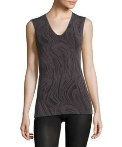 Wolford | Marble-Print Tank Top