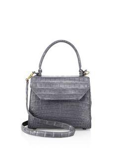 Nancy Gonzalez | Mini Lily Crocodile Leather Crossbody Bag