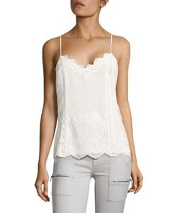 Joie   Exclusive Vayle Embroide Silk Tank