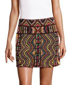 Valentino | Wood Beaded Skirt
