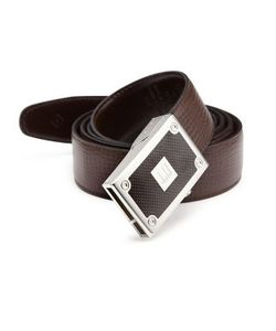 Dunhill | Box-Frame Buckle Leather Belt