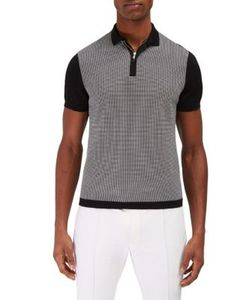 EFM-Engineered for Motion   Peninsula Mesh Stitched Polo Sweater