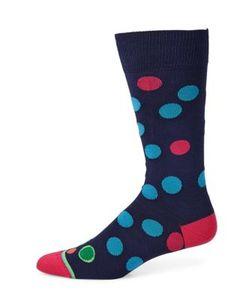 Paul Smith | Monster Polka Dot Dress Socks