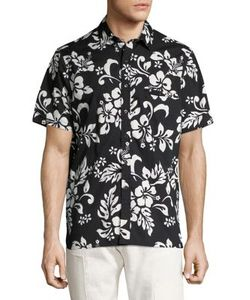 Ovadia & Sons   Cotton Camp Shirt