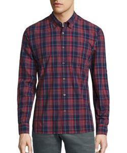 John Varvatos | Plaid Button-Down Shirt