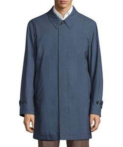 Canali | Reversible Long Jacket