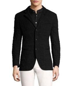 John Varvatos | Slim-Fit Knit Jacket