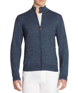 Saks Fifth Avenue Collection | Tweed Zip-Front Cardigan