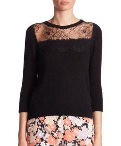 Agnona | Lace Cashmere Sweater