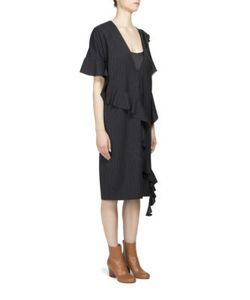 Maison Margiela | Asymmetrical Ruffle Dress