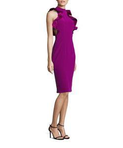 nha khanh   Deborah Silk Blend Cocktail Dress